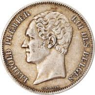 Monnaie, Belgique, Leopold I, Léopold Ist, 2-1/2 Francs, 1849, Bruxelles, TTB - 10. 2 1/2 Franco