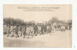 Cp, MILITARIA , Les TIRAILLEURS MALGACHES, 17 , LA TREMBLADE ,1917 , 4 E Compagnie Du 13 E Bataillon , Vierge ,ed. Braun - Personen