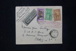 MADAGASCAR - Enveloppe De Tananarive Pour Paris En 1934 Par 1er Vol  Régulier Madagascar / Europe - L 80248 - Brieven En Documenten