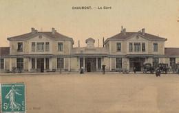 CPA - Chaumont - La Gare - Chaumont