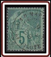 Colonies Générales - N° 49 (YT) N° 49 (AM) Oblitéré De Martinique / Riviere Pilote. - Alphee Dubois