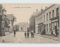 59 SOLESMES ... Rue De Valenciennes (LS 6) Circulée - Solesmes