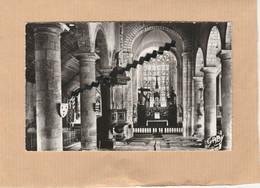 Dept 22 : ( Côtes D'Armor ) Bourbriac, Intérieur De L'Eglise, Nef Centrale Et Maître-Autel. - Other Municipalities