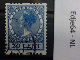 Nederland 1925 Roltanding Tweezijdig Zonder Watermerk - Booklets