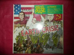LP33 N°7053 - STEEL PULSE - EARTH CRISIS - 960 315-1 U - Reggae