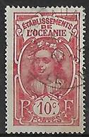OCEANIE N°49  Belle Oblitération De Vaitepaua/ Ile Makatea - Used Stamps