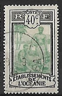 OCEANIE N°32  Belle Oblitération De Uturoa/ Ile De Ratatea - Used Stamps
