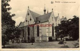 CPA BINCHE - LA COLLEGIALE VUE DU PARC - Binche