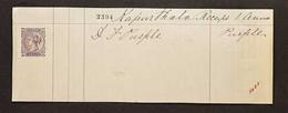 "DE LA RUE DUMMY STAMPS - 1904 (circa) UNIQUE INK COLOUR TRIAL STAMPS Queens Head Printers Dummy Stamp Inscribed ""De La R - Non Classificati"