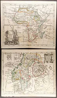 ANTIQUE MAPS OF THE WORLD A Lovely Group Of Engraved And Coloured Maps Printed On Laid Paper By DE LAPORTE Of Paris, Cir - Non Classificati