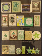 1910-1966 ESPERANTO LABELS ALL WORLD, All Different Group Of Mint Labels, Some Never Hinged And Some Unused Without Gum. - Non Classificati