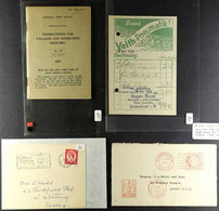 CYCLING 1904-1964 Interesting Group Of Covers, Cards & Ephemera, Includes 1904 'The Mail In Brit. Indies' Card, Great Br - Non Classificati