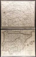 MILITARY CAMPAIGN MAPS A Group Of Circa Early To Mid 19th Century French Engraved Maps By AMBROISE TARDIEU (1788-1841) S - Non Classificati