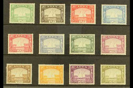 "1937 ""Dhow"" Set Complete, SG 1/12, Very Fine Mint (12 Stamps) For More Images, Please Visit Http://www.sandafayre.com/it - Aden (1854-1963)"