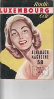 RADIO TELE LUXEMBOURG ALMANACH 58 - Cinema/Televisione