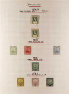 1902-1935 FINE MINT COLLECTION On Pages, Includes 1902 1s, 1908 1s, 1908-11 Set To 1s, 1913-22 & 1921-31 Most Vals To 1s - Grenada (...-1974)