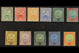 1906 - 11 Badge Of The Colony, Set Complete, SG 77/88, Very Fine Mint. (11 Stamps) For More Images, Please Visit Http:// - Grenada (...-1974)
