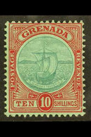 1908 10s Green And Red/green, SG 83, Very Fine Mint. For More Images, Please Visit Http://www.sandafayre.com/itemdetails - Grenada (...-1974)