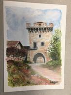 Gray La Tour Du Chateau  Jolyot - Gray