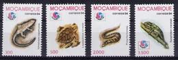 MOZAMBIQUE 1994 REPTILES, PHILAKOREA 94  NO GUM - Non Classés