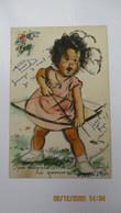"""Germaine BOURET / Carte à Système / """"Par Exemple...il A Bouffé La Pomme !..."""" / C.P.utilisée ( 1950 ). - Humorous Cards"""