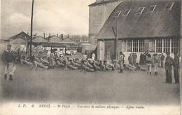 CPA Brest 2e Dépot Exercice De Culture Physique - Appui Tendu - Brest