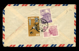 TAIWAN R.O.C. - 1963  Cover Sent From Catholic Church, Taipei To Hilversum, The Netherlands. - Briefe U. Dokumente