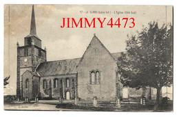 CPA - LE CLION ( PORNIC ) 44 Loire Inf. - L' Eglise ( Côté Sud ) N° 17 - Imp.-Edit. F. Chapeau - Scans Recto-Verso - Pornic