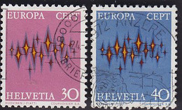 Europa. Suisse: YT 899/900 - 1972