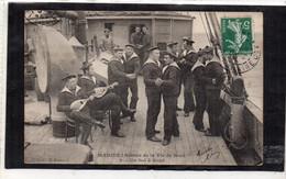 MARINE Scènes De La Vie De Bord 9 Un Bal à Bord - Regiments