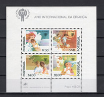 Portugal 1979 - UNICEF - International Year Of The Child - Minisheet - MNH** - Excellent Quality - Unclassified