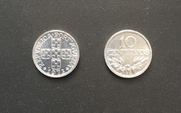 $E43-10 Centavos Aluminium Coin - Portugal - 1973 - Portugal
