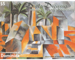 Ref. 306943 * MNH * - DOMINICA. 2004. ART. DETAILED IMAGE OF THE SPANISH PAINTER PABLO PICASSO . ARTE. IMAGEN DETALLADA - Dominica (1978-...)