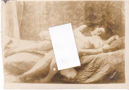 Old Photo Nus érotique Homme Femme - Ohne Zuordnung