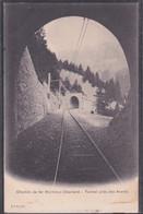 CP SUISSE.  VAUD  Chemin De Fer Montreux-Oberland   Tunnel Près Des Avants - VD Vaud