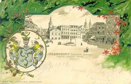 Jägerndorf Österr.Schles Franz Josef Platz - Knorv - Relief - Tschechische Republik