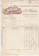 Facture Illustrée 6/1/1926 A BECKER Grand Moulin De La Ganzau STRASBOURG Bas Rhin - 1900 – 1949