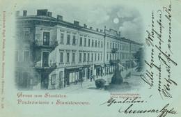 Pozdrowienie Z Stanislowowa - Gruss Aus Stanislau Ulica Sapierzyuska Ivano-Frankivski - Ukraine