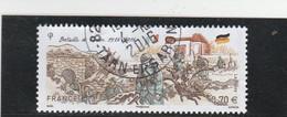 FRANCE 2016 BATAILLE DE VERDUN OBLITERE A DATE YT 5063 - Used Stamps