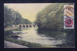 DANEMARK - Affranchissement De Naestved Sur Carte Postale Pour Le Sénégal En 1905 - L 80315 - Briefe U. Dokumente