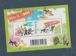 """FRANCE / 2009 / Y&T N° 4341 En Bloc Ou F4341 (Feuillet """"Fête Du Timbre : Looney Tunes"""") - Oblitéré 2009. SUPERBE ! - Used"""