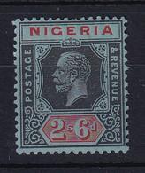 Nigeria: 1921/32   KGV    SG27     2/6d   [Die II]   MH - Nigeria (...-1960)