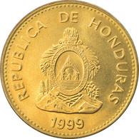 Monnaie, Honduras, 5 Centavos, 1999, SPL, Laiton, KM:72.4 - Honduras