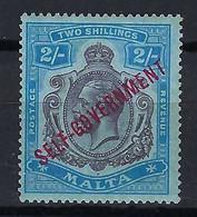 MALTE 1922: Le Y&T 78 Neuf** - Malta (...-1964)