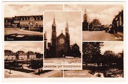 Roosendaal - Station/Markt/Paterskerk/Knipplein/Emil Van Loonpark - Roosendaal