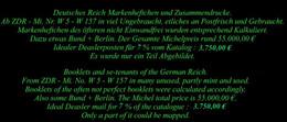 ZDR - Markenheftchen - Bogen - Bogenteilen Mit Vielen Raritäten. Michel Rund 55.000,00 € - Se-Tenant