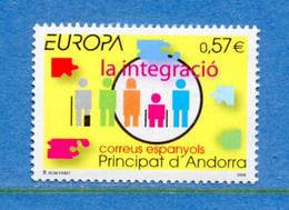 ⭐ Andorre Espagnol - Europa - YT N° 323 ** - Neuf Sans Charnière - 2006 ⭐ - 2006