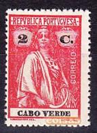 Cabo Verde, 1914 - Tipo Ceres / MNH**  Afinsa 141 - 2 C. - Isola Di Capo Verde