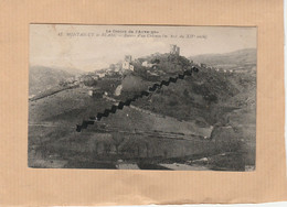 Dept 63 : ( Puy-de-Dôme ) Montaigut-le-Blanc, Ruine D'un Château. - Montaigut