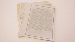 Lot N° TH 1209 ANC. Colonies Francaise... Collection Neufs X Et Obl Sur Page D'albums - Collezioni (in Album)